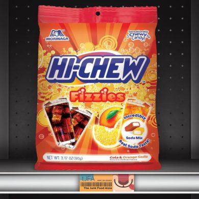 Hi-Chew Fizzies: Cola & Orange Soda