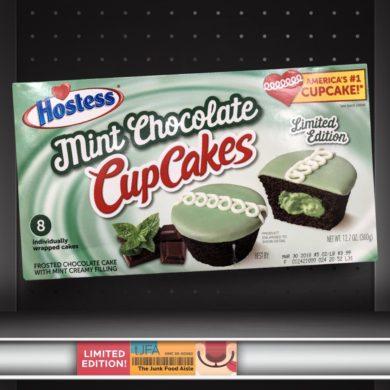 Hostess Mint Chocolate CupCakes