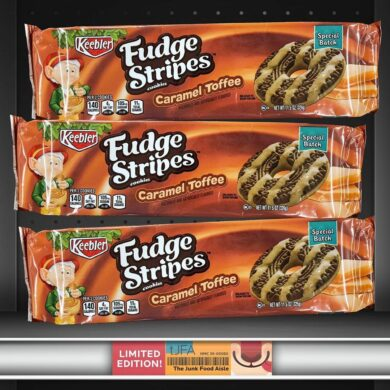 Keebler Caramel Toffee Fudge Stripes