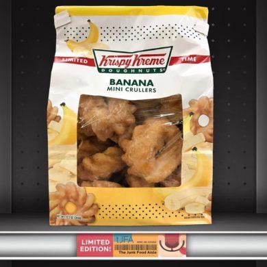 Krispy Kreme Doughnuts Banana Mini Crullers