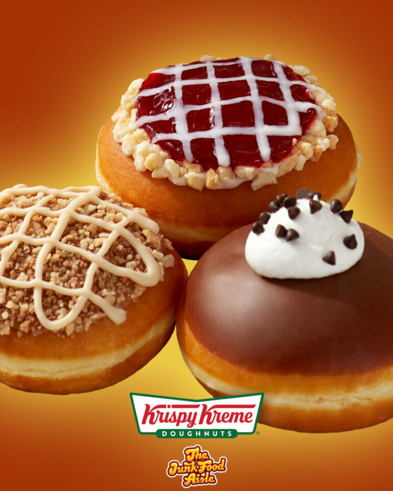 Krispy Kreme Introduces Three Thanksgiving Pie Inspired Doughnuts!