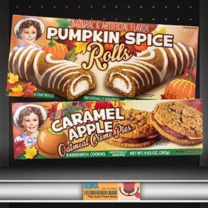 Little Debbie Pumpkin Spice Rolls and Caramel Apple Oatmeal Creme Pies