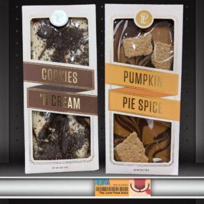 Lolli & Pops Topp'd Bars: Pumpkin Pie Spice and Cookies 'N Cream