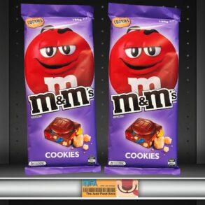 M&M's Cookies Chocolate Bar [Australia]