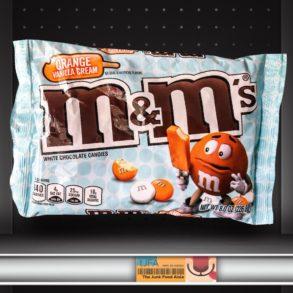 Orange Vanilla Cream M&Ms