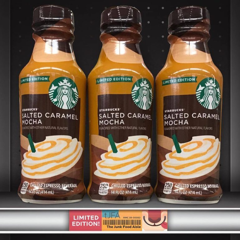 Starbucks Salted Caramel Mocha Chilled Espresso Beverage