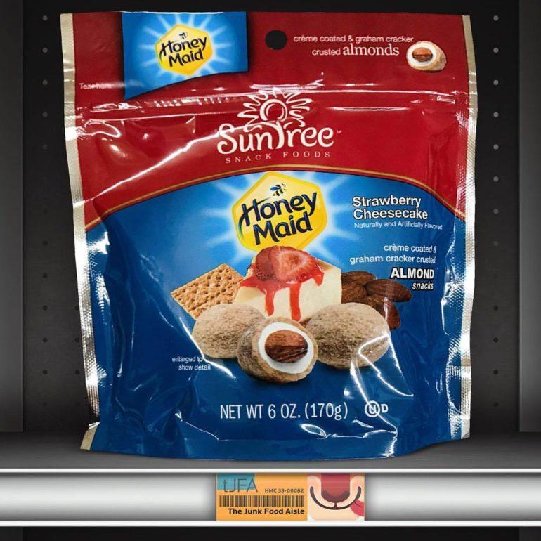 SunTree Honey Maid Strawberry Cheesecake Almonds