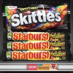 Sweet Heat Skittles and Starburst