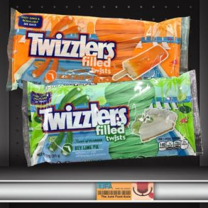Twizzlers Filled Twists Flavor of Florida Orange Cream Pop & Key Lime Pie
