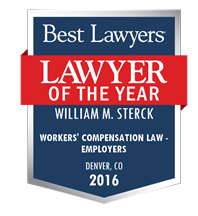 William Sterck Lawyer of the Year 2016