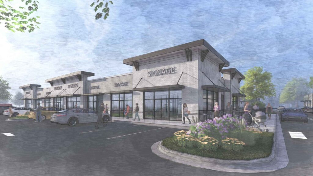 Overlook at Gold Hill – Exterior Rendering –Fort Mill, SC