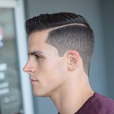 Men's ivy league haircut