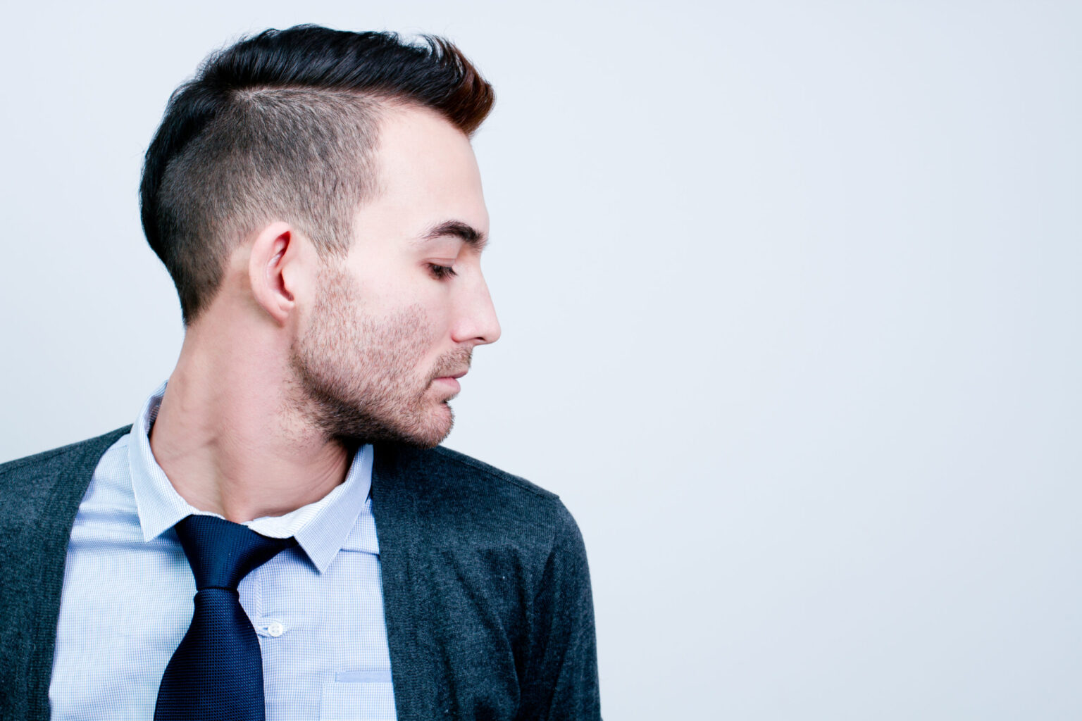 Men's mohawk haircut