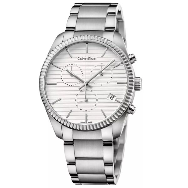 Calvin Klein Alliance Men's Stainless Steel Bracelet Watch