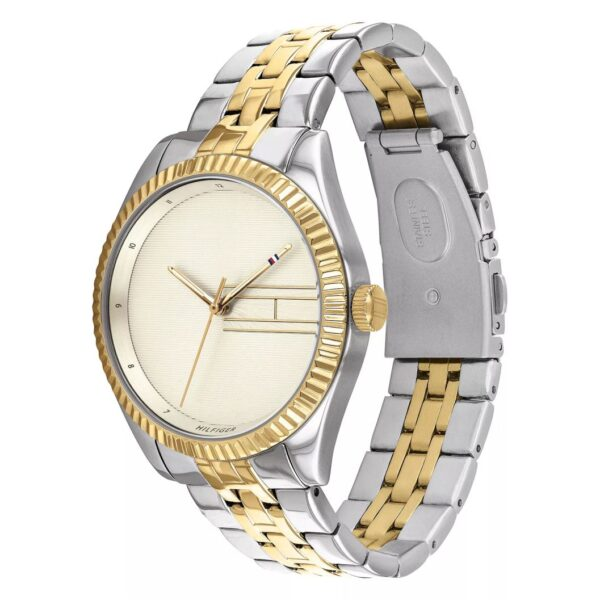 Tommy Hilfiger Lee Ladies' Two Tone Bracelet Watch