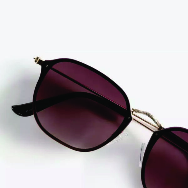 Brown ombre lens sunglasses