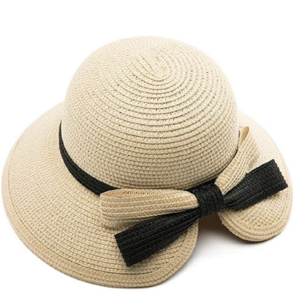 Ava Ladies Floppy Summer Sun Beach Straw Hat