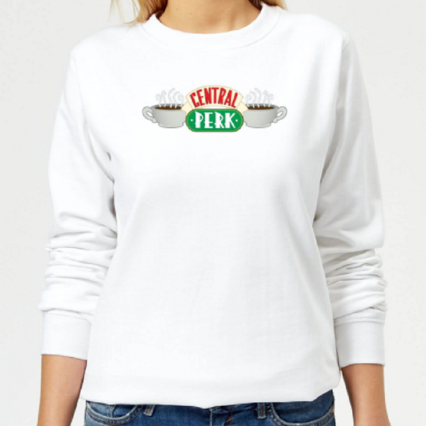 Friends Central Perk Women's Sweatshirt – White