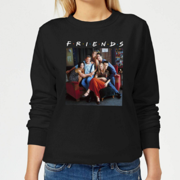 Friends Classic Character Women's Sweatshirt – Black
