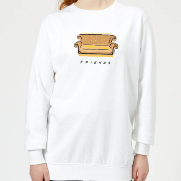 Friends Couch Women's Sweatshirt – White