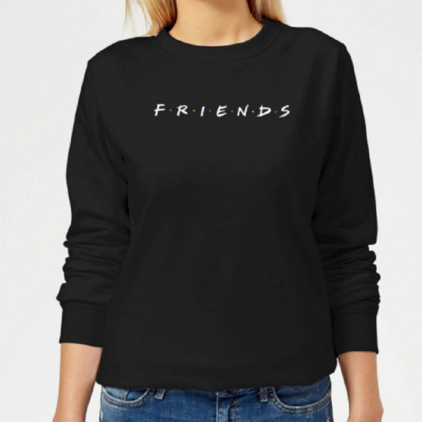 Friends Logo Women's Sweatshirt – Black