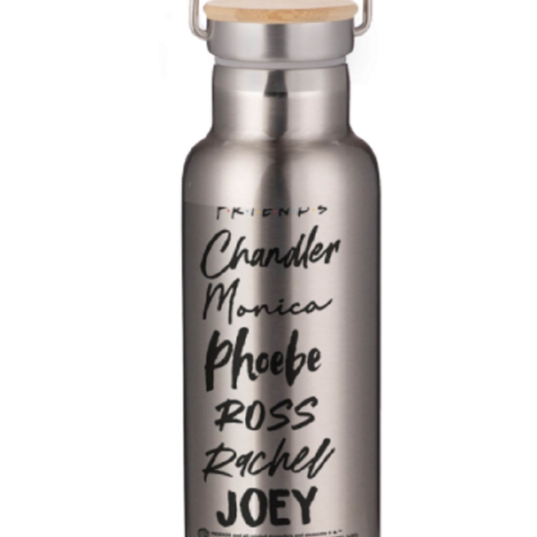 Friends Names Portable Insulated Water Bottle – Steel