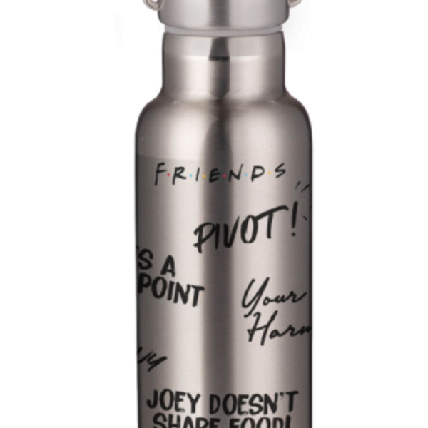 Friends Quotes Portable Insulated Water Bottle – Steel