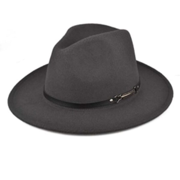 Grey Hats with Belt Buckle Unisex