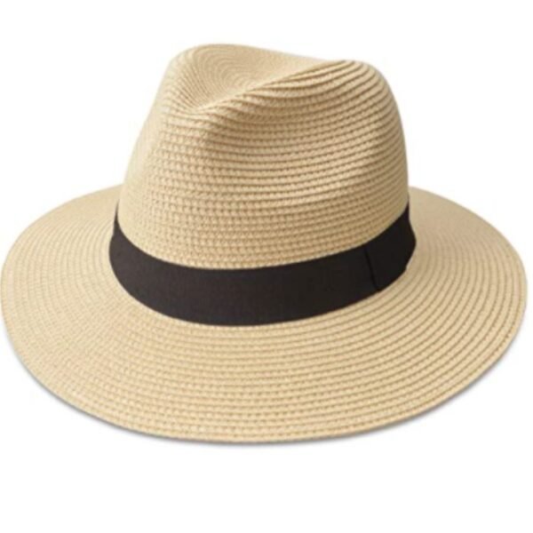 Rollable Straw Panama Hat