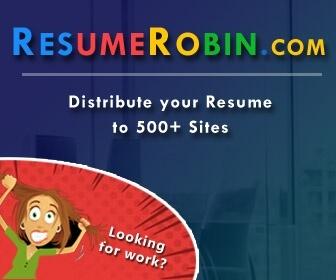 Resume Robin Promo Code