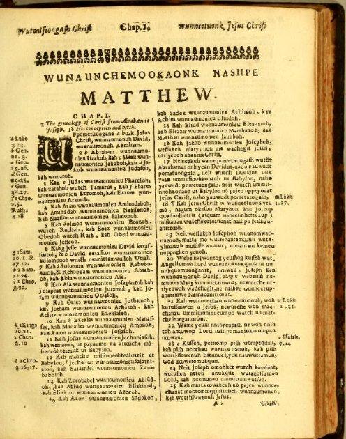 Daily Bible Reading: Matthew 1