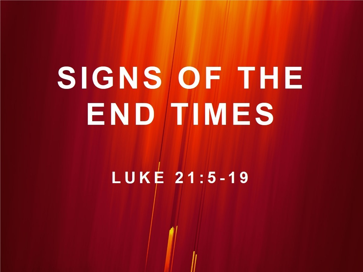 Daily Bible Reading: Luke 21:1-19