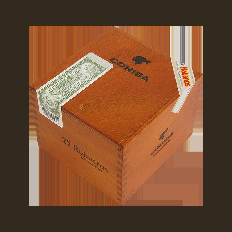 COHIBA ROBUSTOS BOX  25