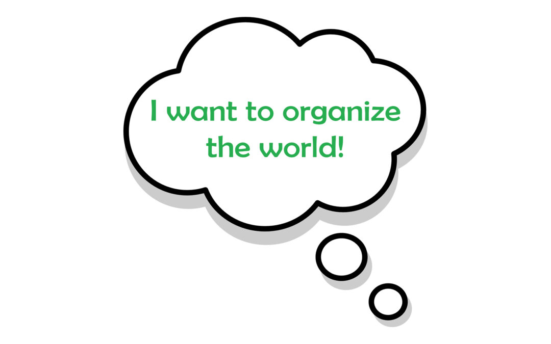 ID the scope of your organizing project