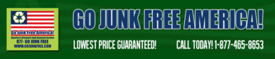 Go Junk Free America logo