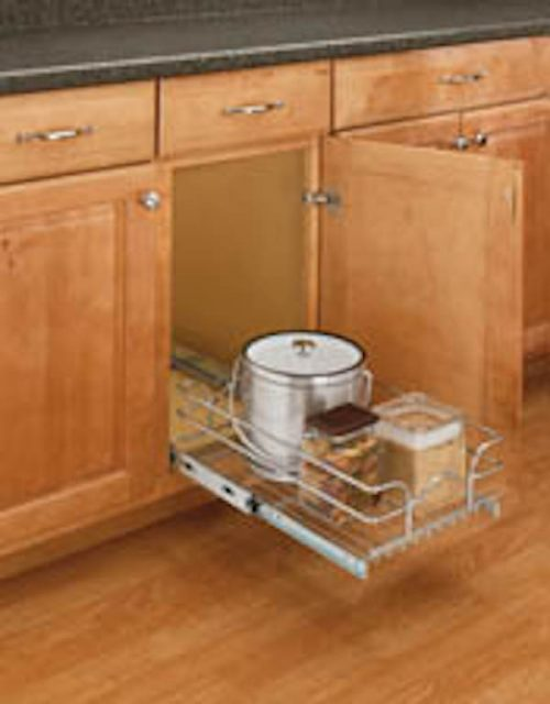 Photo: Pull out addition to kitchen cabinet