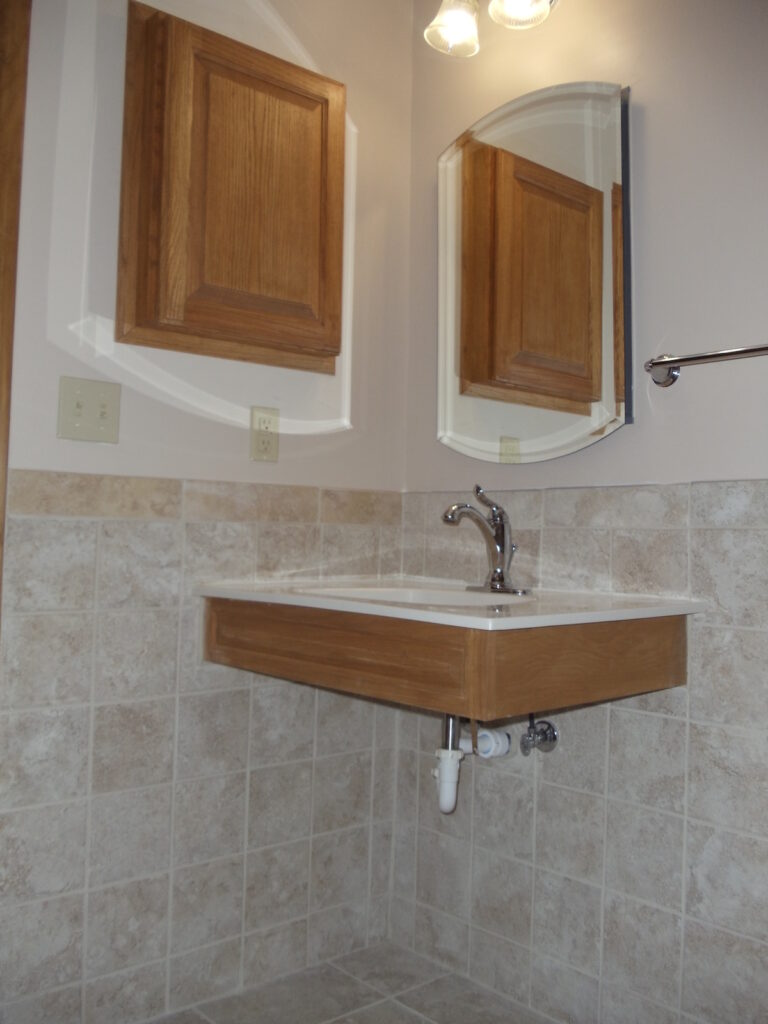 Photo: Accessible Sink by Accessibility Remodeling