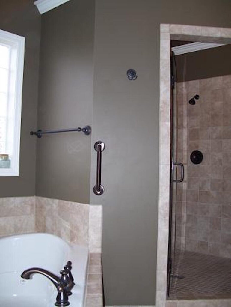 Bathroom Grab Bars installed by Accessibility Remodeling