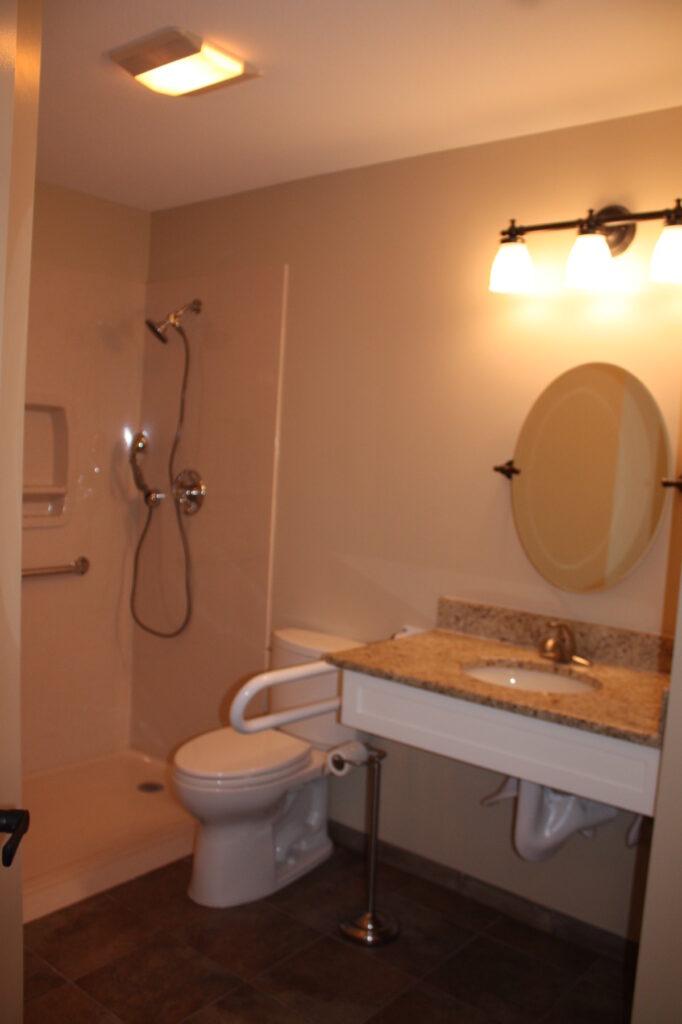 Photo: Accessible Bathroom by Accessibility Remodeling