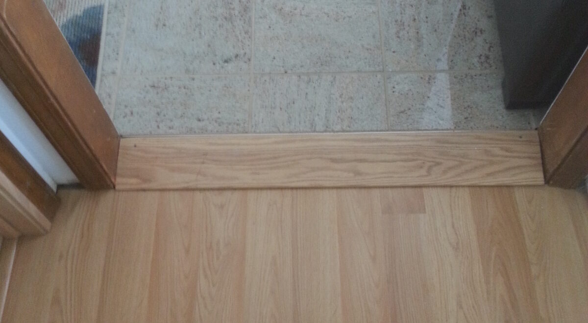 Wood Threshold Wheelchair Ramp
