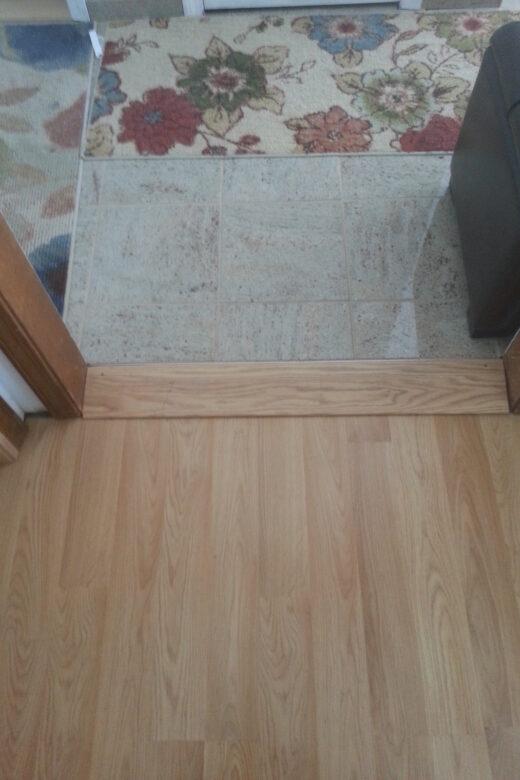 Wood Threshold Wheelchair Ramp