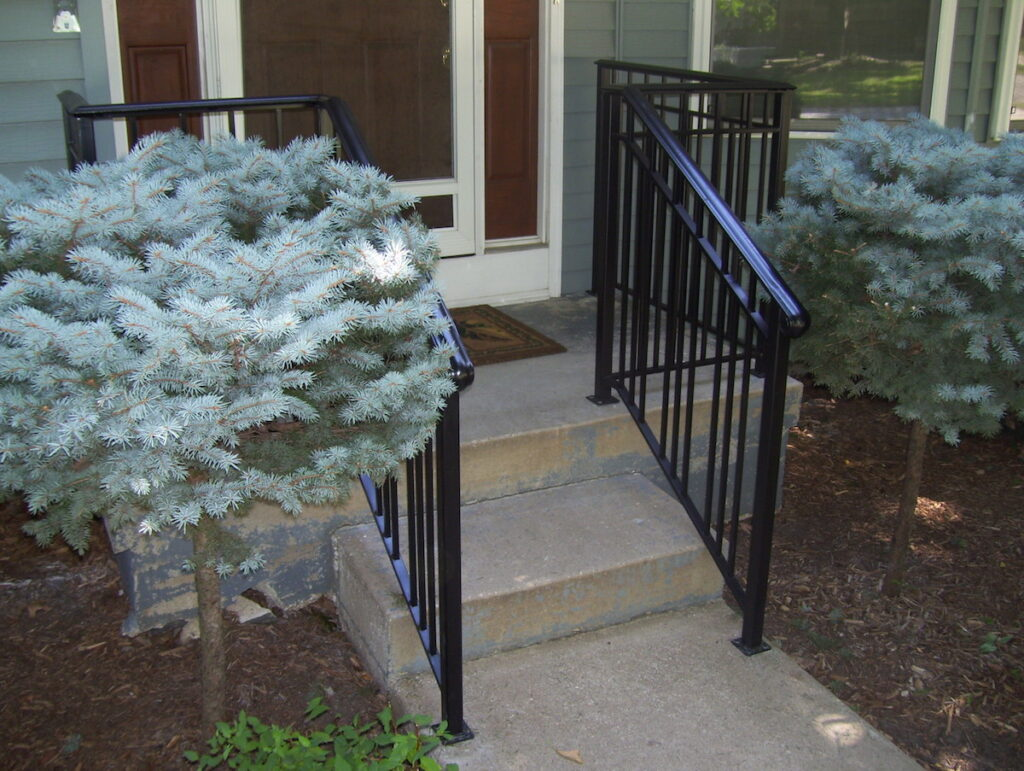Photo: Metal Handrails installed by Accessibility