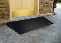 Photo: Rubber Threshold Wheelchair Ramp