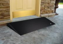 Photo: Rubber Threshold Wheelchair Ramp