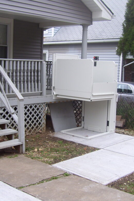 Photo: Wheelchair Lift installed by Accessibility Remodeling