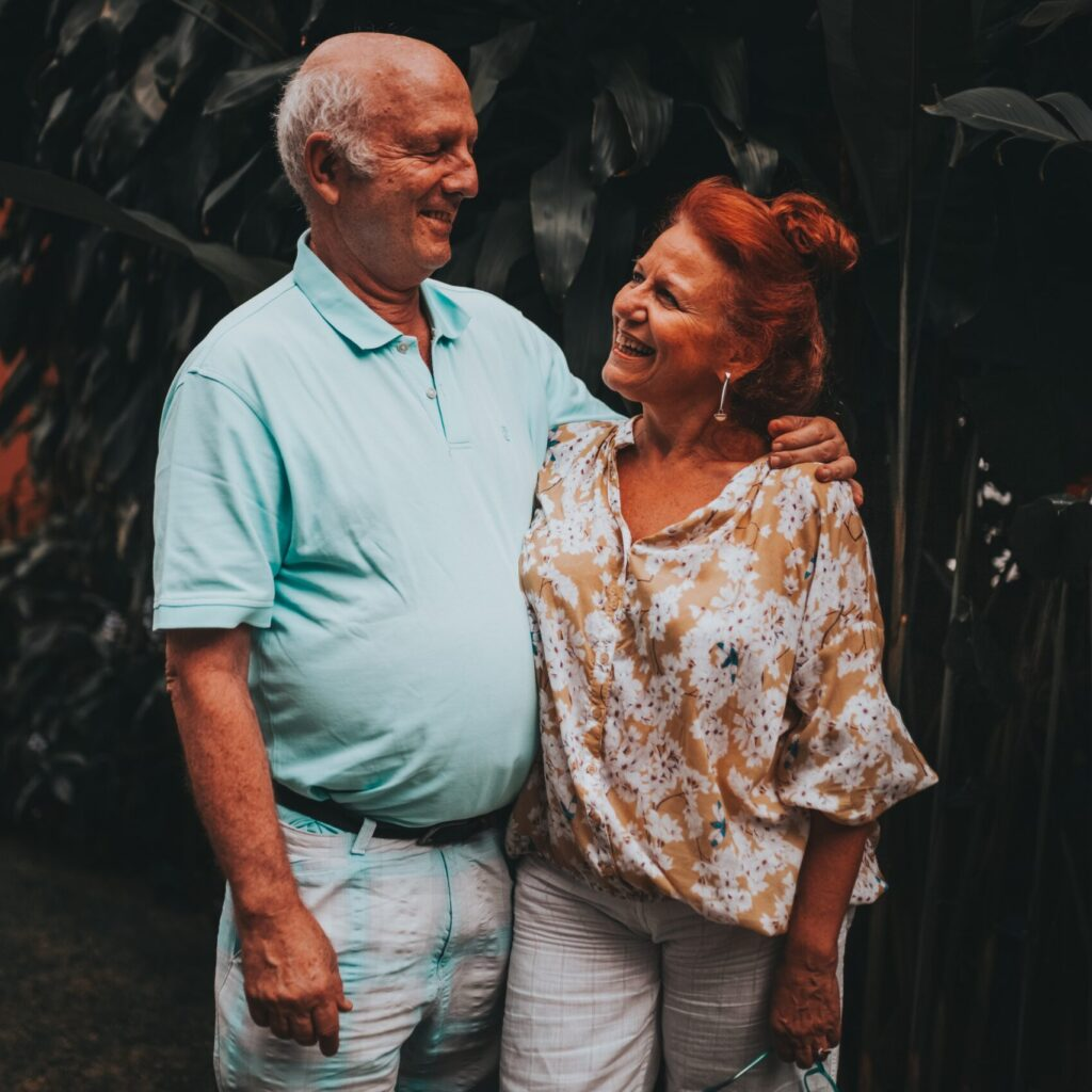 Photo: older couple
