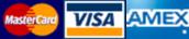 MasterCard VISA AMEX