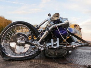 motorcycle accident, bike crash, splitting lanes, biker injury, personal injury lawyer