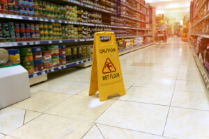 Slip and Falls in Grocery Stores