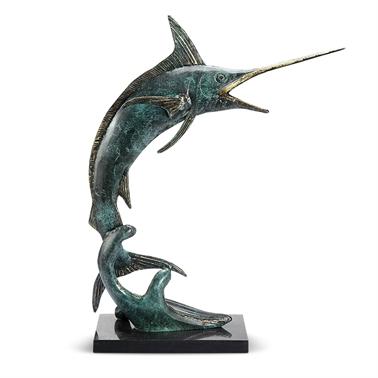 Brass Predatory Marlin